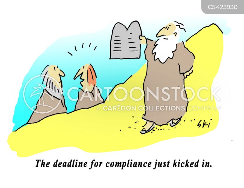 compliant cartoon