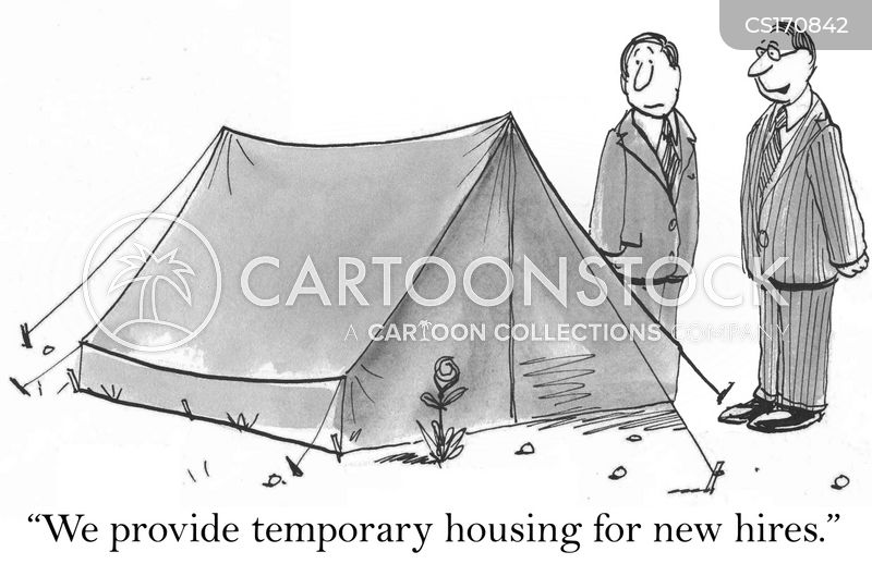 camp sites cartoon
