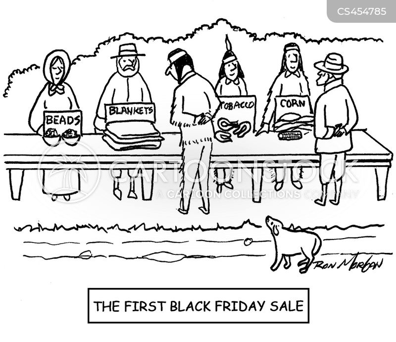 Thanksgiving Sales Cartoons And Comics Funny Pictures From Cartoonstock