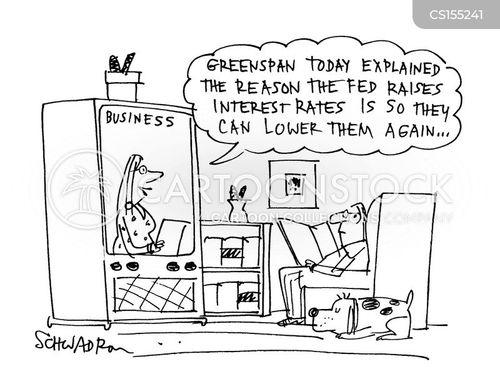the fed cartoon