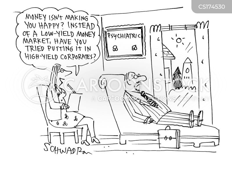 money markets cartoon