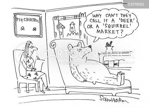 bear market cartoon
