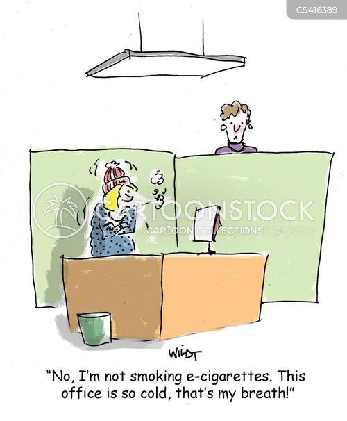 smoking policy cartoon