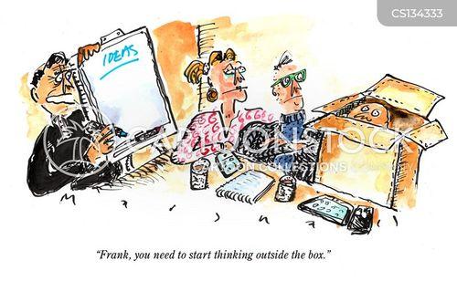buzz words cartoon