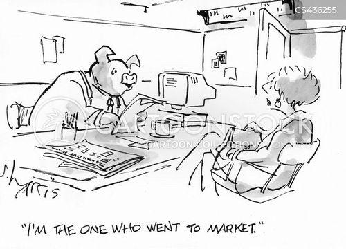this little piggy cartoon