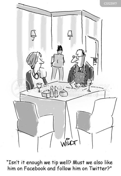 tipped cartoon