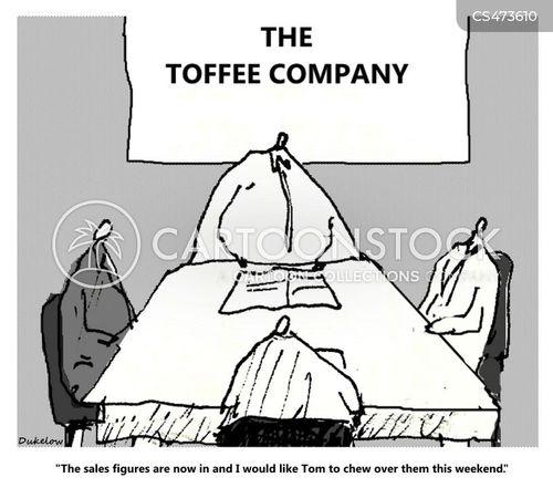 toffees cartoon