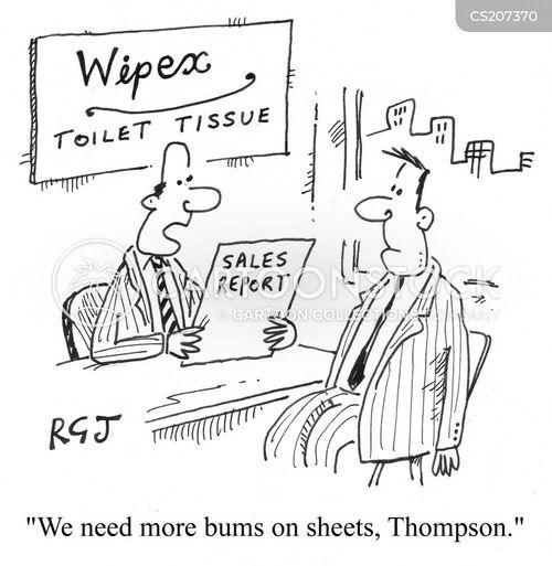 toilet rolls cartoon