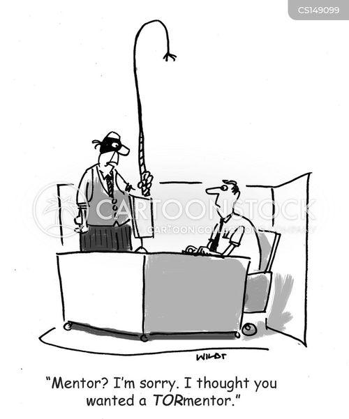tortured cartoon