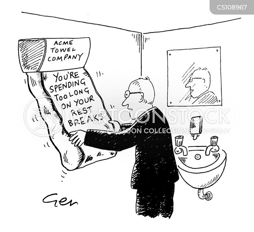 paper towel cartoon