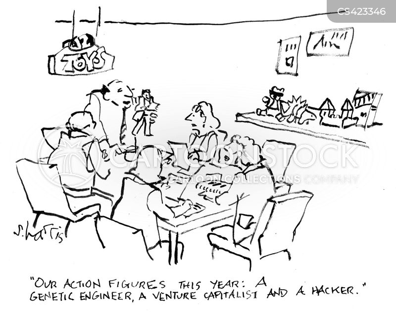 venture capitalists cartoon