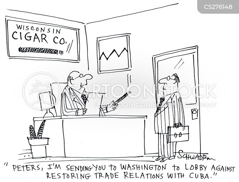 trade relations cartoon
