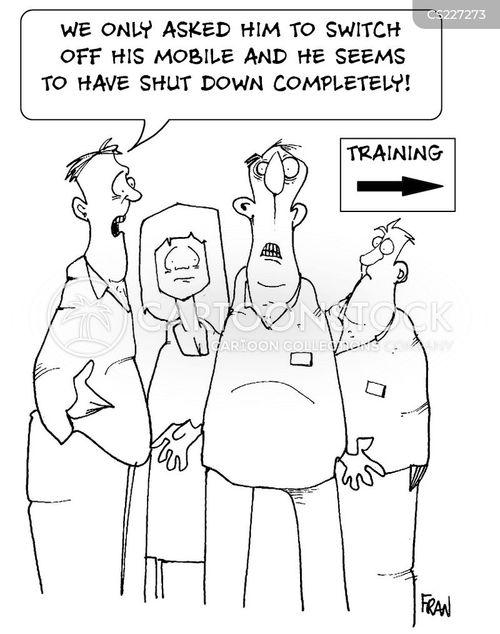 training seminars cartoon