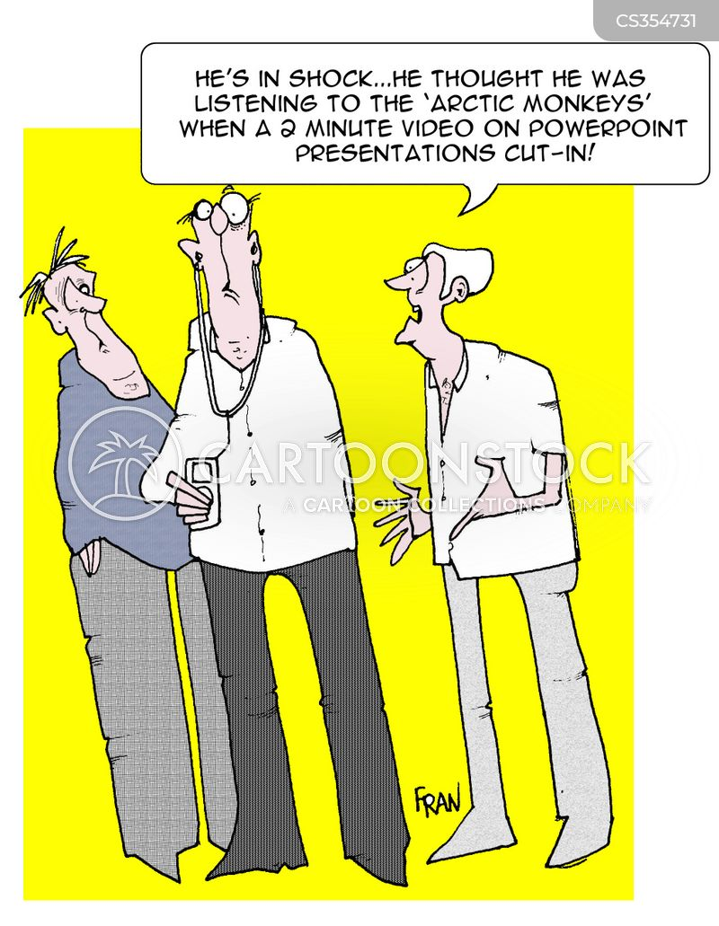video training cartoon