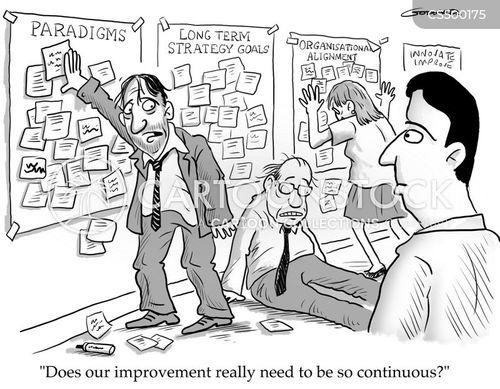 continuous cartoon
