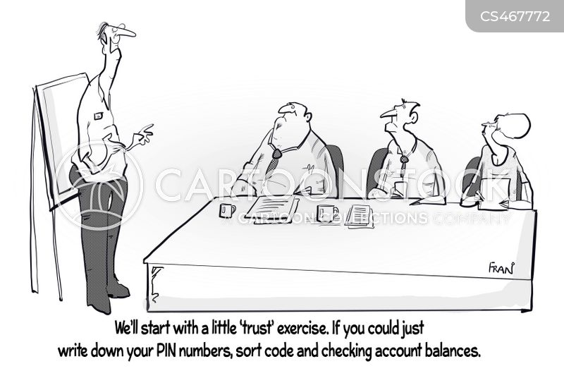 training workshops cartoon