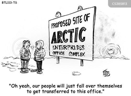 office transfer cartoon