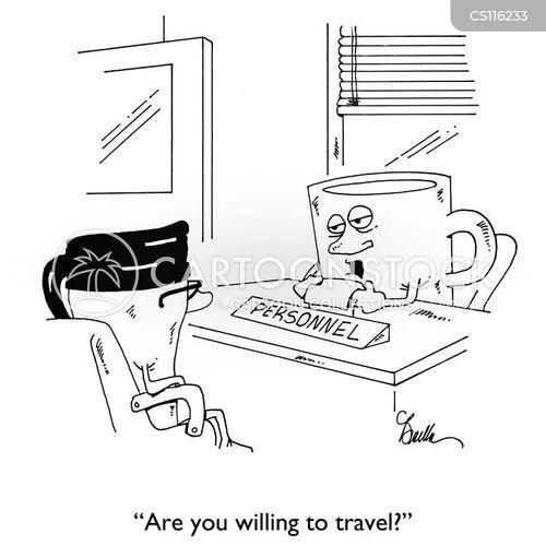 travel mug cartoon