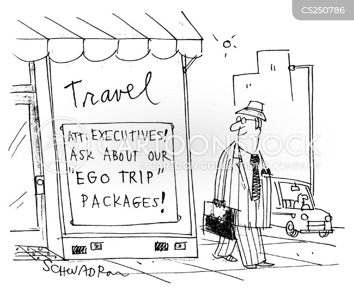 ego trip cartoon