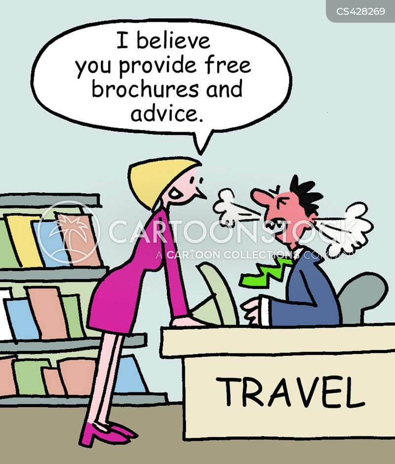 Travel Brochures Cartoons and Comics - funny pictures from