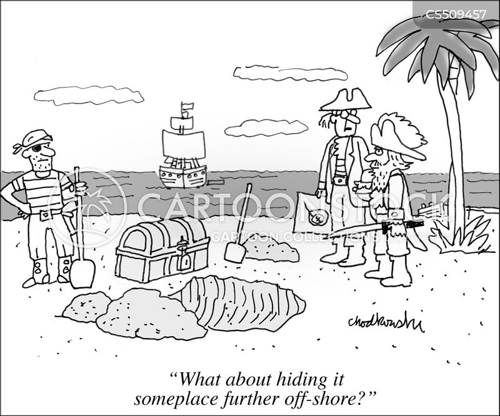 treasure trove cartoon