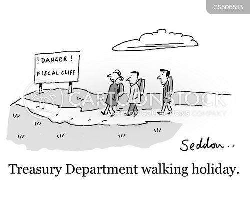 treasury department cartoon