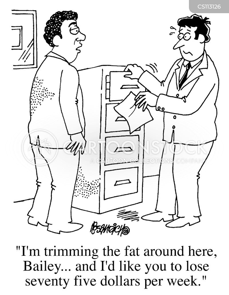 trimming the fat cartoon