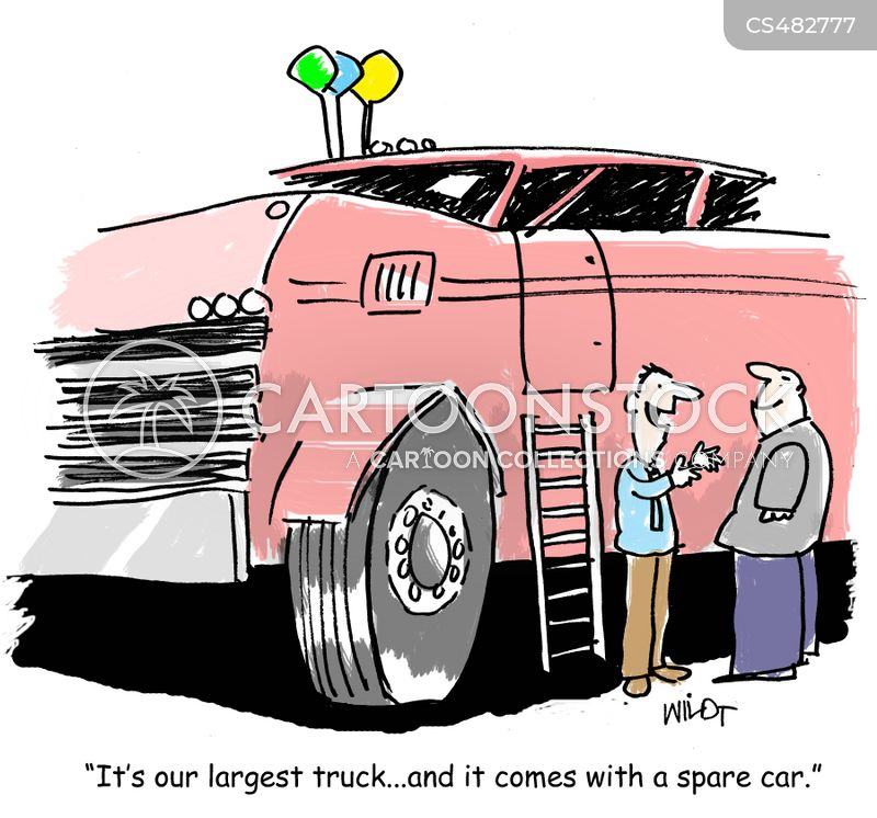 spare tires cartoon