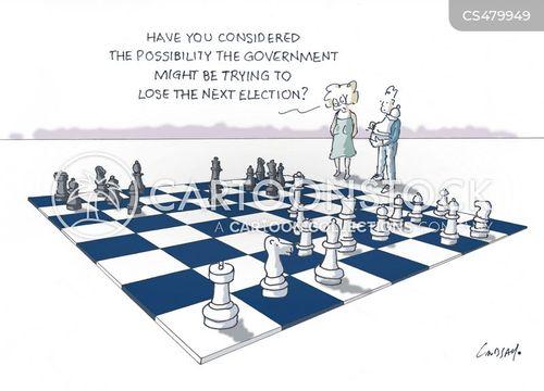 chess moves cartoon