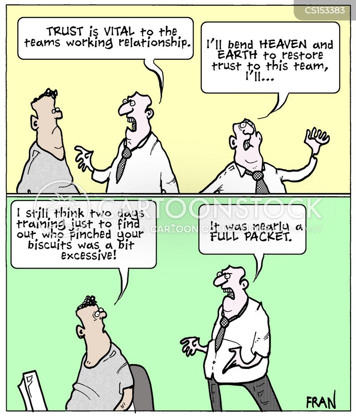working relationships cartoon