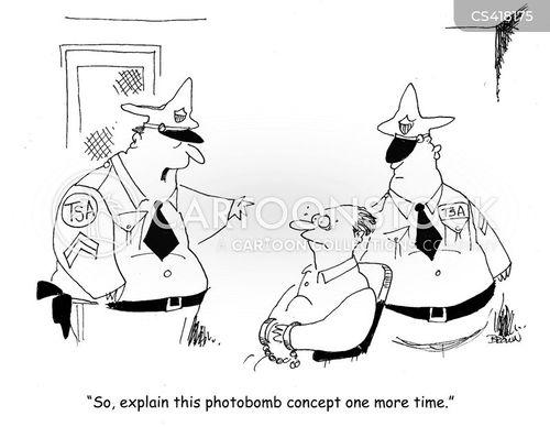 transport security administration cartoon