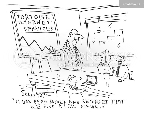 internet speeds cartoon