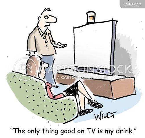 dumbed-down cartoon