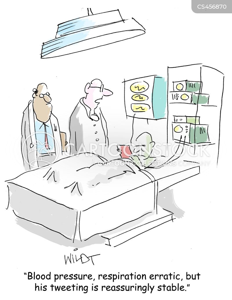 medical data cartoon
