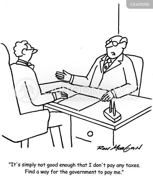 tycoon cartoon