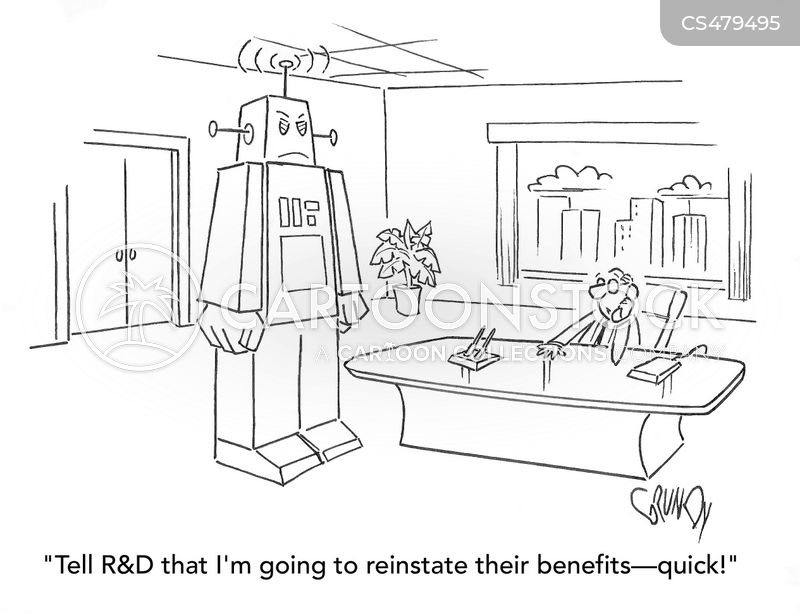 benefits package cartoon