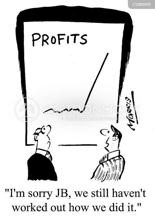 gains cartoon