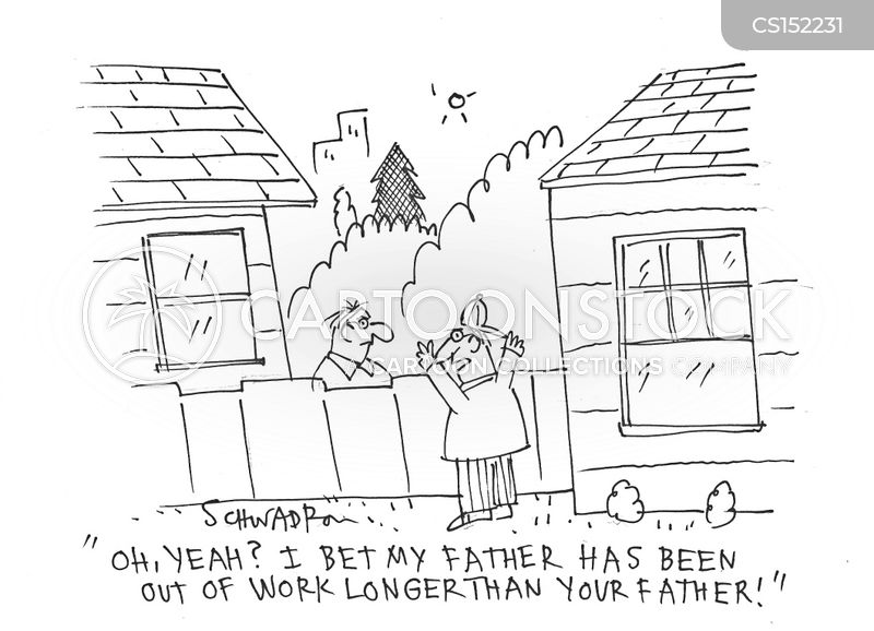 unemployment figures cartoon