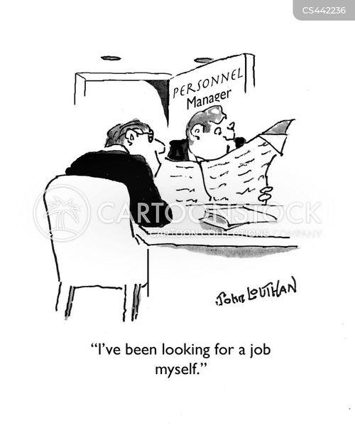 job vacancies cartoon
