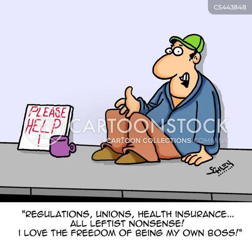 industrial disputes cartoon