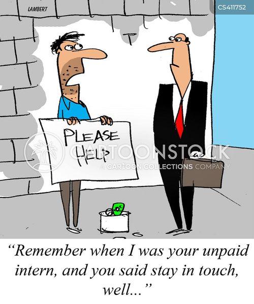 unpaid interns cartoon