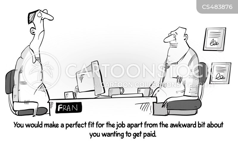unpaid work cartoon