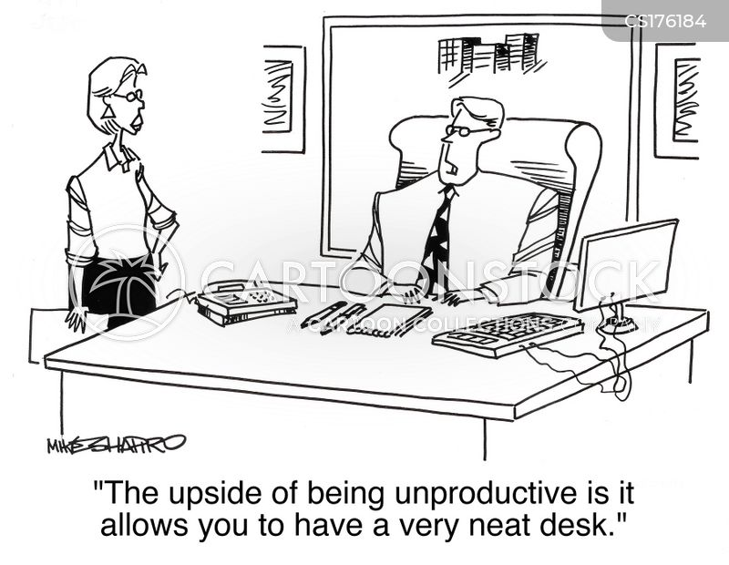 Clean Desk Policy Template Clean Desk Cartoons And Comics Funny Pictures From CartoonStock