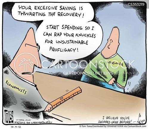 economic stimuli cartoon