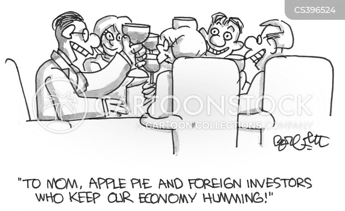foreign investors cartoon