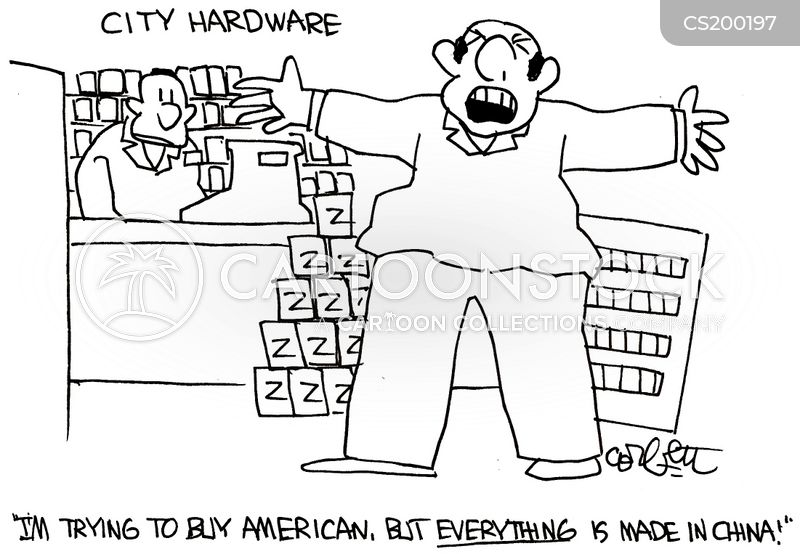 manufacturer cartoon