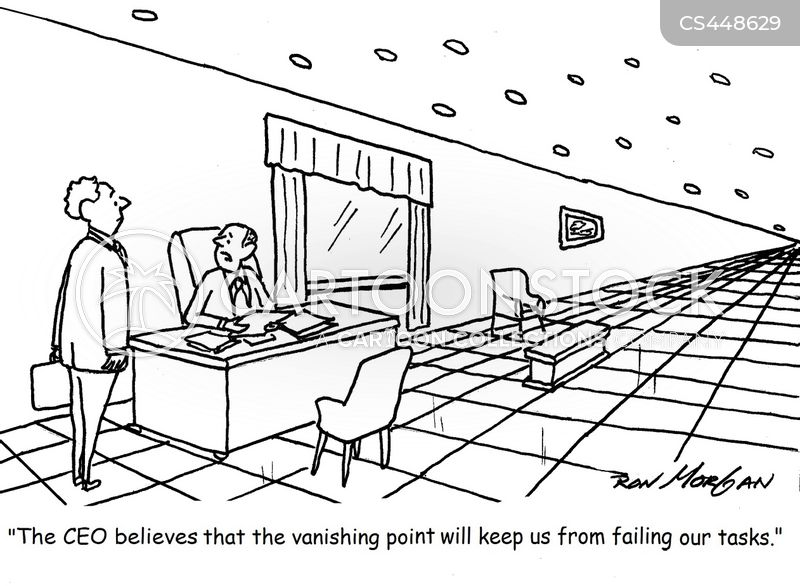 vanishing point cartoon