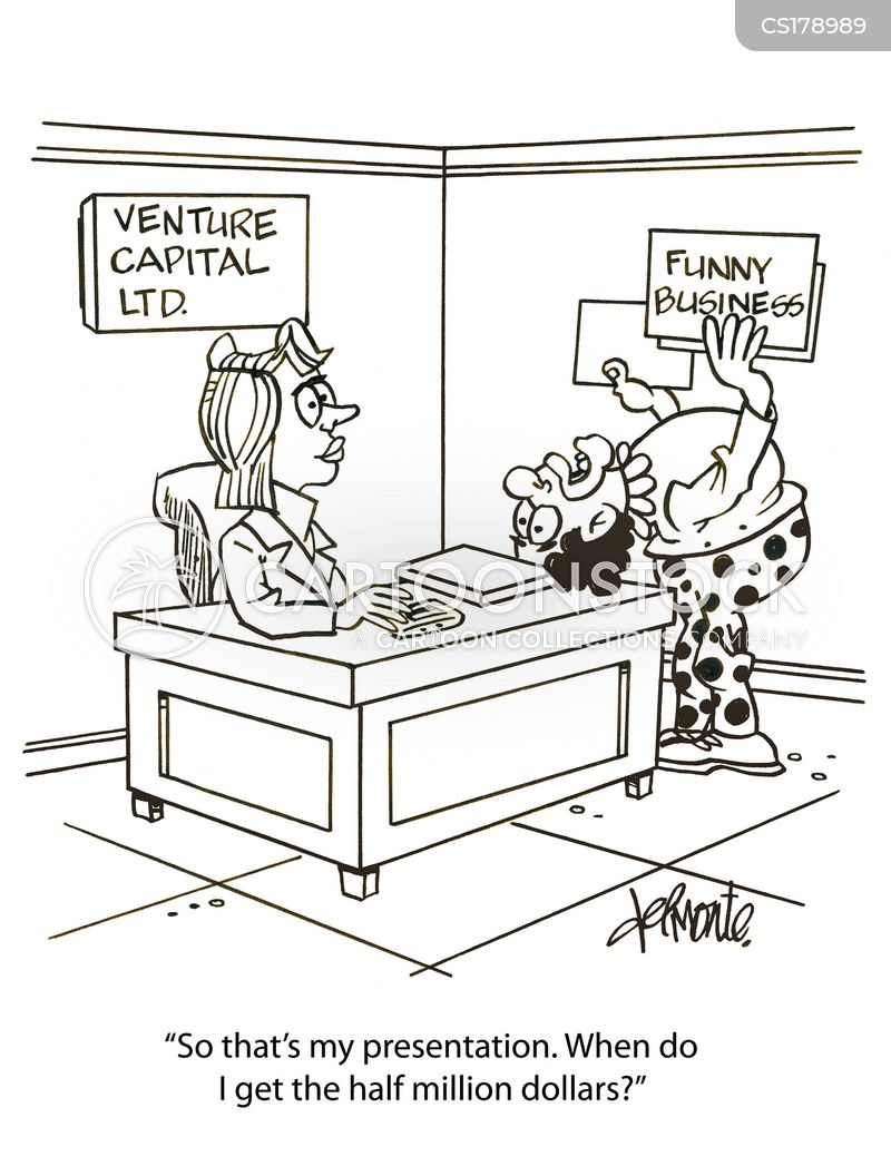 new business cartoon