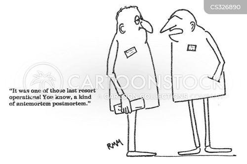 postmortems cartoon