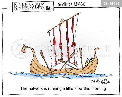 viking invader cartoon